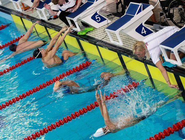 Всероссийские паралимпийские соревнования. Первый день