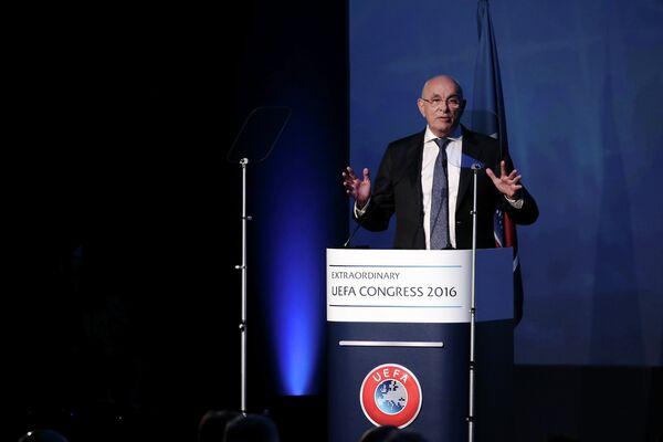 Президент Королевского футбольного союза Нидерландов (KNVB) Михаэль ван Праг