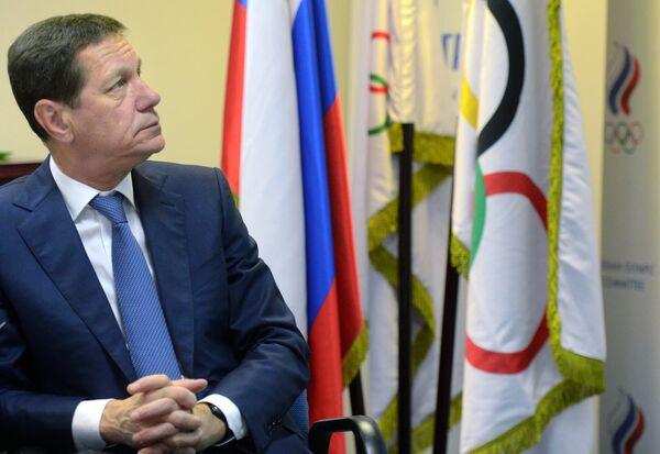 Глава Олимпийского комитета России (ОКР) Александр Жуков
