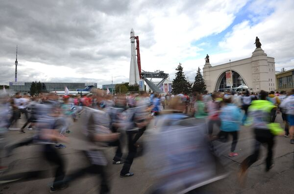 Всероссийский день бега Кросс Нации - 2016