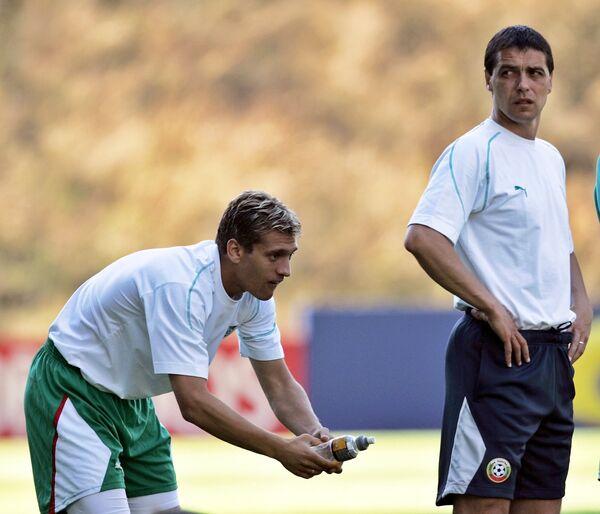 Петар Хубчев (справа)