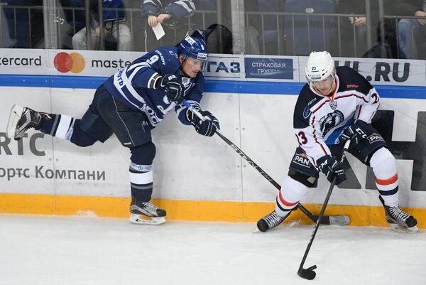 Игровой момент матча Динамо (Москва) - Медвешчак