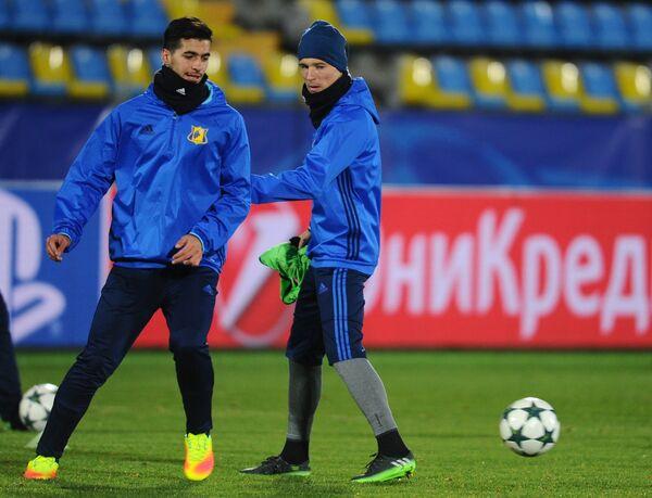 Саид Эзатолахи (слева) и Дмитрий Полоз