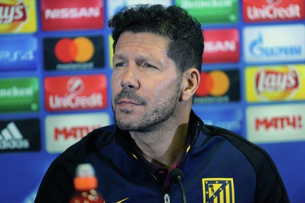 Главный тренер Атлетико Диего Симеоне