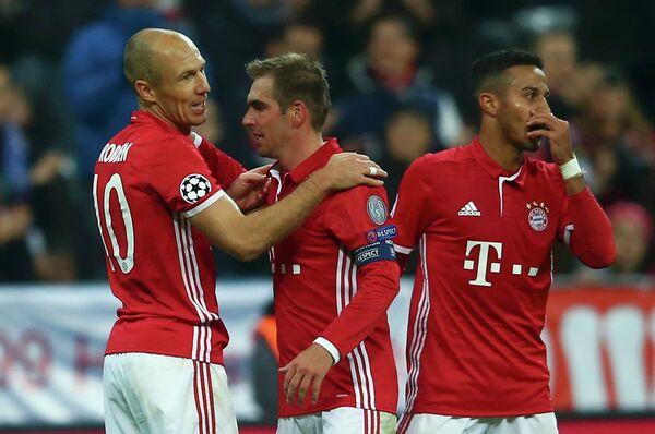 Футболисты немецкой Баварии