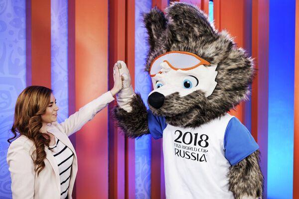 Дизайнер официального талисмана чемпионата мира по футболу 2018 года Екатерина Бочарова