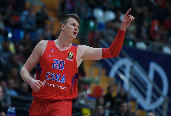 Форвард ЦСКА Андрей Воронцевич