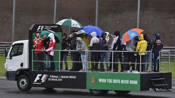 Пилоты Формулы-1 на этапе Гран-при Бразилии