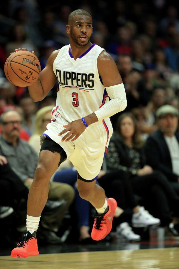 Защитник клуба НБА Лос-Анджелес Клипперс Крис Пол