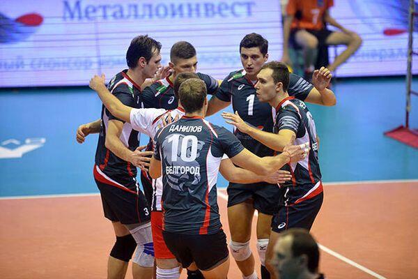 Игроки ВК Белогорье