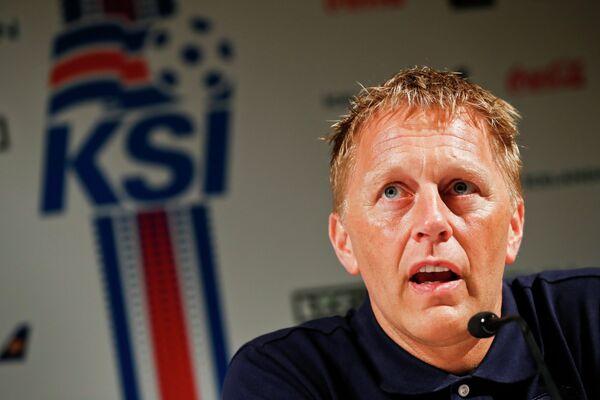 Главный тренер сборной Исландии по футболу Хеймир Хадльгримссон