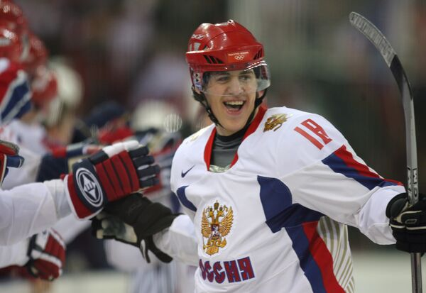 Евгений Малкин (2006 год)