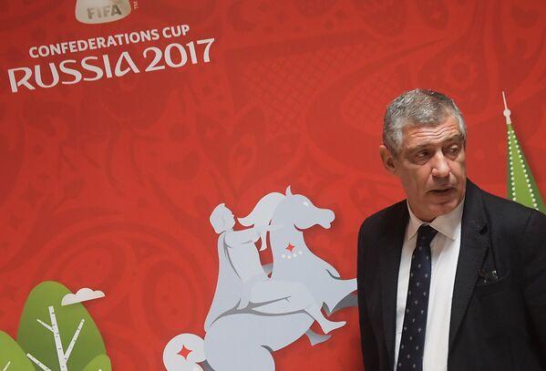 Главный тренер сборной Португалии по футболу Фернанду Сантуш