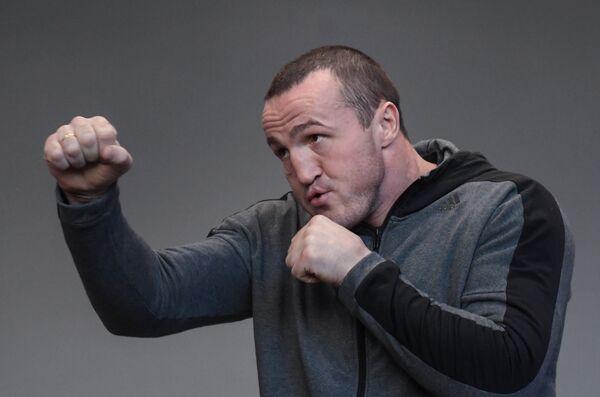 Российский боксер Денис Лебедев