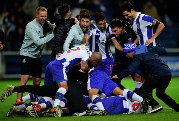 Футболисты португальского Порту