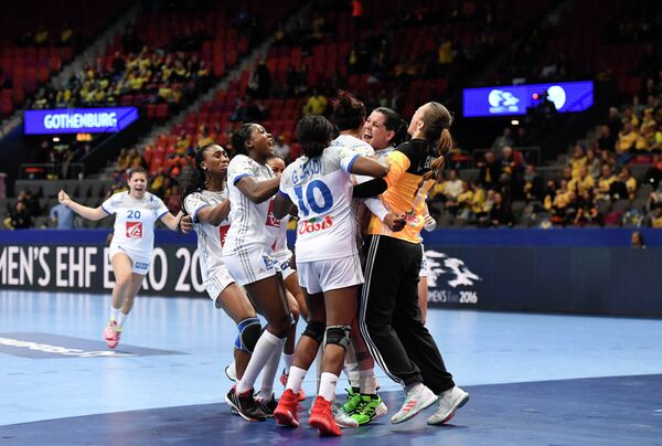 Гандболистки сборной Франции