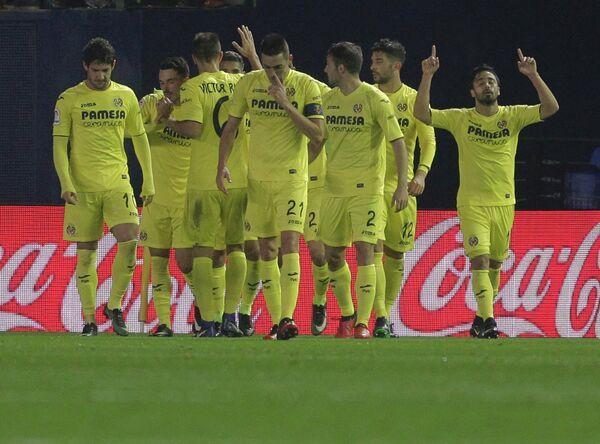 Футболисты испанского Вильярреала