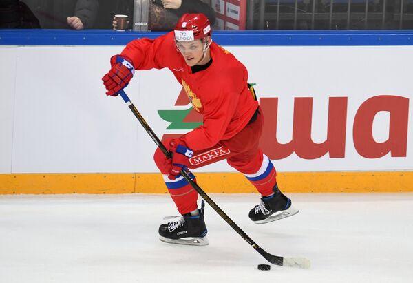 Нападающий сборной России Андрей Светлаков