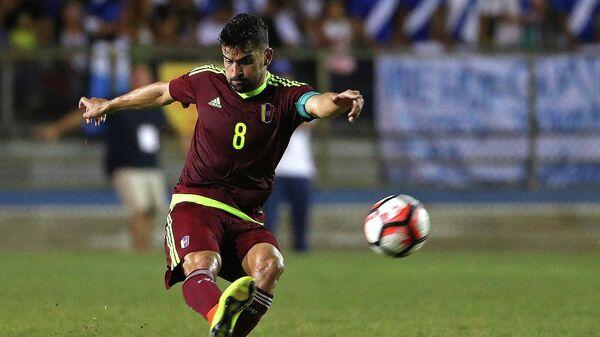 Венесуэльский футболист Томас Ринкон