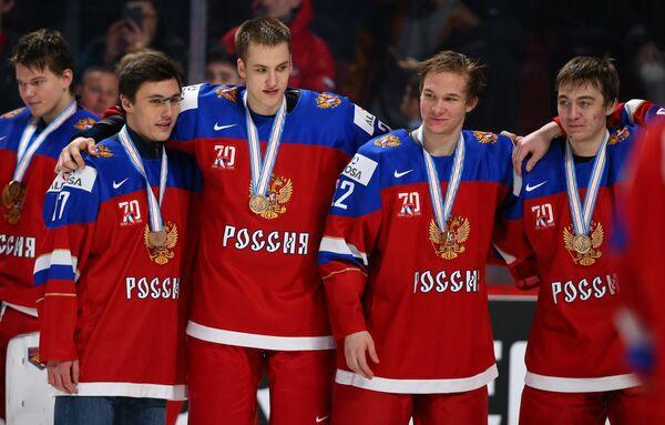 Герман Рубцов, Григорий Дронов, Данил Юртайкин, Яков Тренин (слева направо)