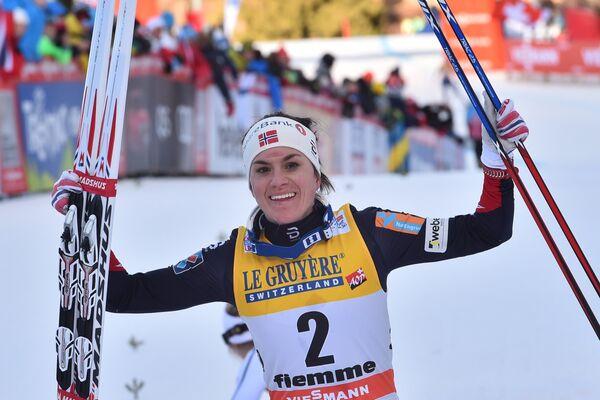 Норвежская лыжница Хейди Венг