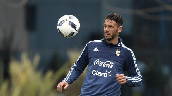 Аргентинский футболист Мартин Демичелис