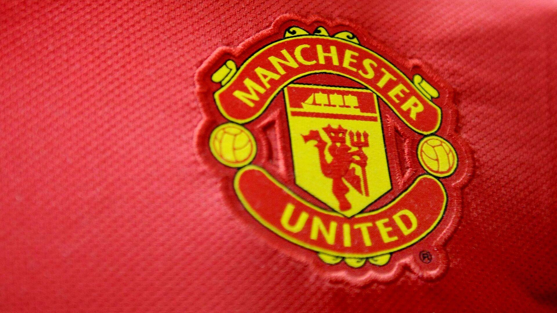 Логотип английского футбольного клуба Манчестер Юнайтед - РИА Новости, 1920, 19.09.2020