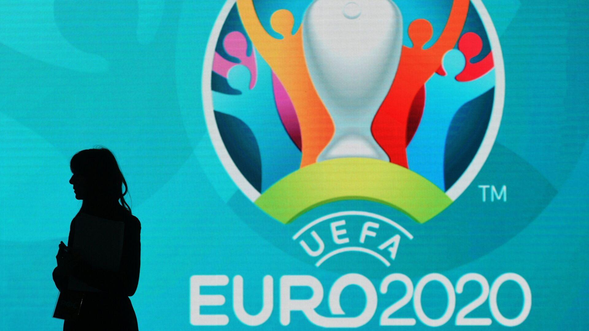 Логотип Евро-2020 по футболу - РИА Новости, 1920, 11.07.2019
