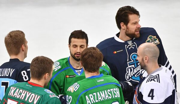 Хоккей. Мастер-шоу Звезд КХЛ. Сборная Востока