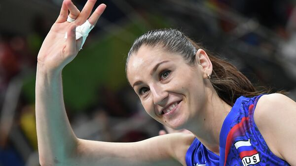 Волейболистка сборной России Татьяна Кошелева