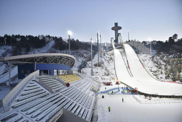 Центр лыжных гонок и биатлона Альпензия