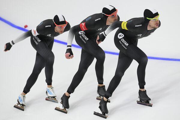 Спортсмены сборной Новой Зеландии