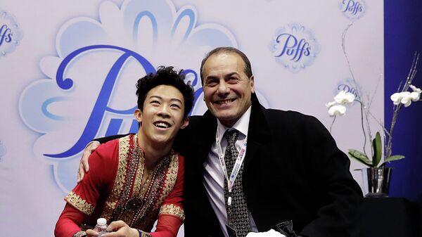 Рафаэл Арутюнян (справа) и Натан Чен
