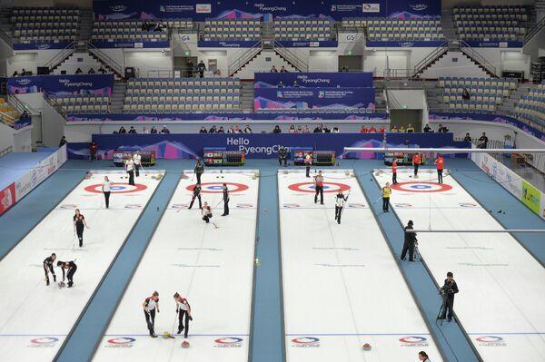 Керлинг-центр в южнокорейском Канныне