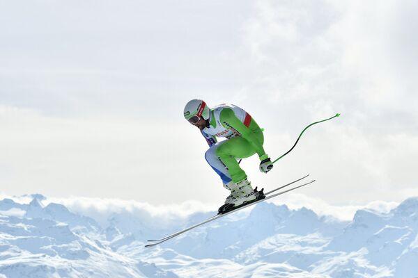 Словенский горнолыжник Боштьян Клине