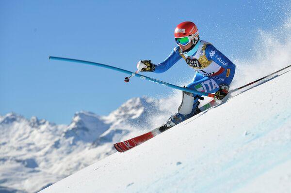 Итальянская горнолыжница Федерика Бриньоне