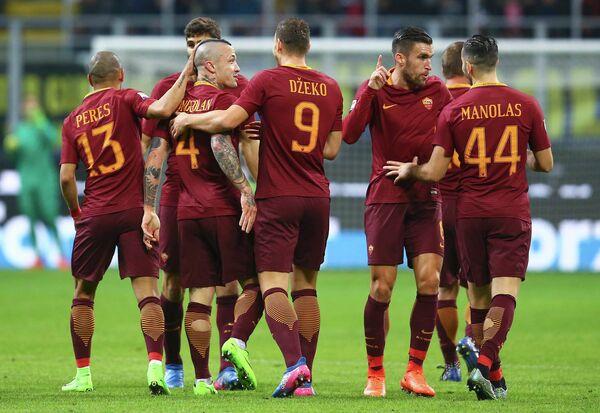 Футболисты итальянской Ромы