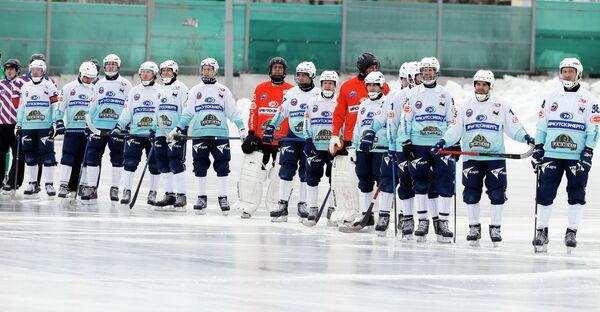 Хоккеисты Байкала-Энергии