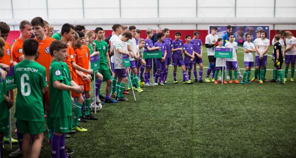 Московский этап открытых всероссийских соревнований по футболу среди детских домов и школ-интернатов Будущее зависит от тебя