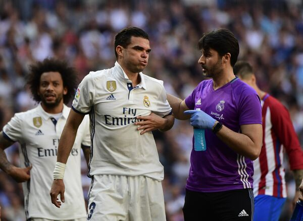 Защитник мадридского Реала Пепе