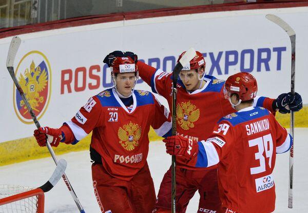 Хоккей. Еврочеллендж. Матч Россия - Франция