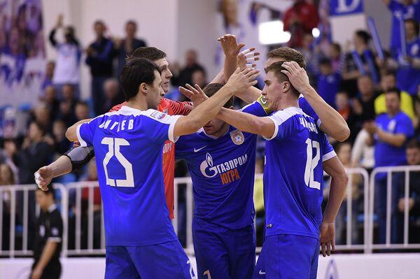 Футболисты Газпром-Югры