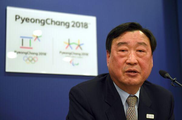 Президент организационного комитета зимней Олимпиады 2018 года в южнокорейском Пхенчхане Ли Хи Бом