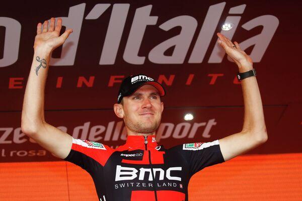 Американский гонщик Тиджей ван Гардерен из BMC