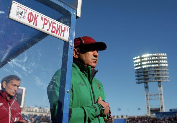 Главный тренер Рубина Курбан Бердыев (архив, 2012)