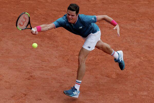 Канадский теннисист Милош Раонич