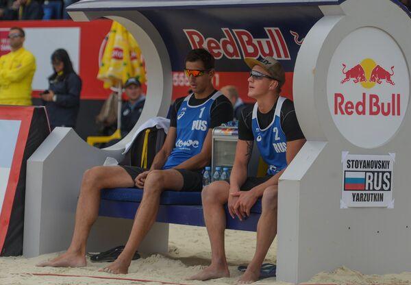 Олег Стояновский и Артём Ярзуткин (слева направо)
