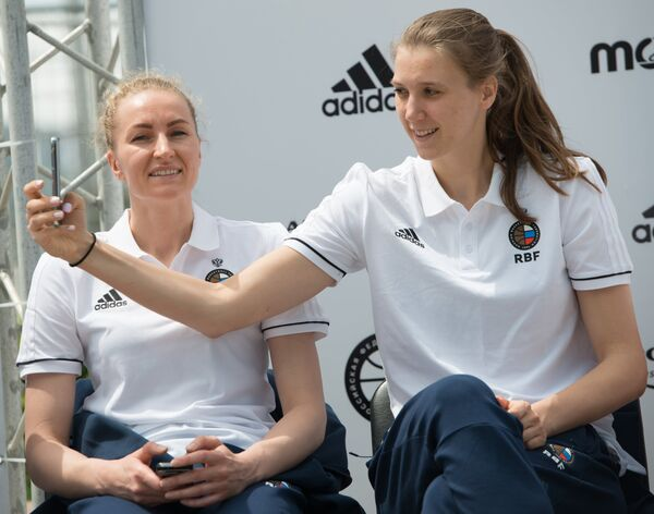 Мария Черепанова (слева) и Наталья Виеру