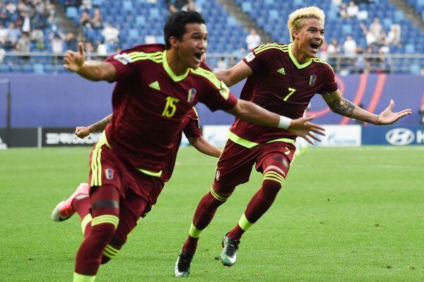 Футболисты молодежной сборной Венесуэлы