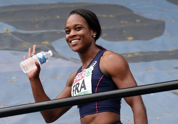 Французская легкоатлетка Кароль Заи